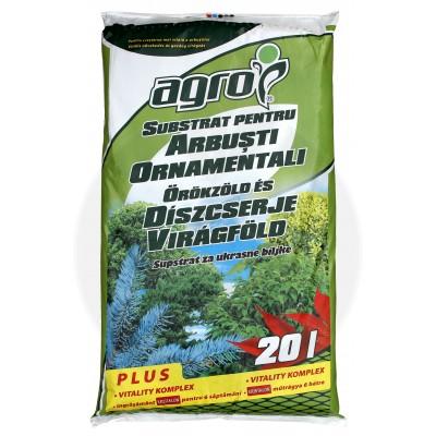 Substrat pentru arbusti ornamentali, 20 litri