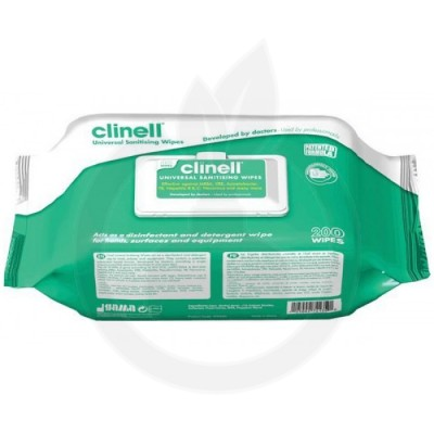 Clinell 4 in 1, 200 servetele