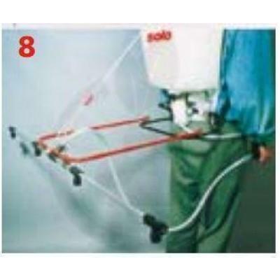 Dispozitiv montare bara stropire 4 duze pentru pulverizatoarele SOLO