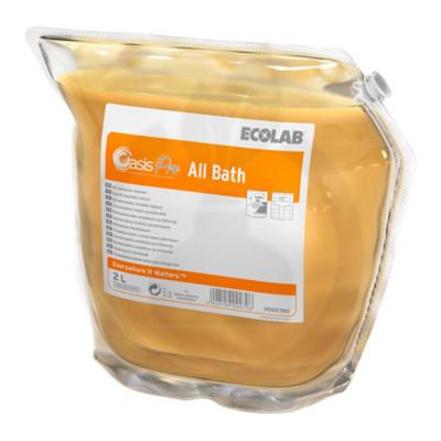 ecolab detergent oasis pro all bath 2 l - 1