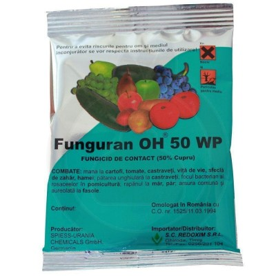 Funguran OH 50 WP, 10 kg