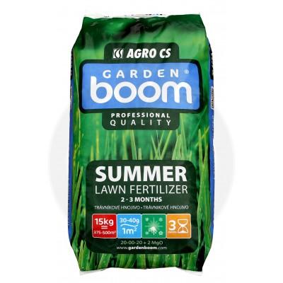 Ingrasamant gazon Garden Boom Summer 20-00-20+2MgO, 15 kg