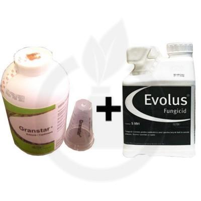 Evolus 20L + Granstar Super 50 SG 1kg, pachet 25 HA