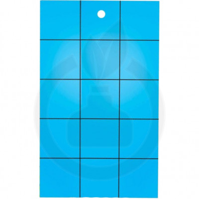 catchmaster adhesive trap blue sticky cards set of 72 - 1