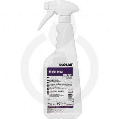 ecolab disinfectant sirafan speed 750 ml - 2