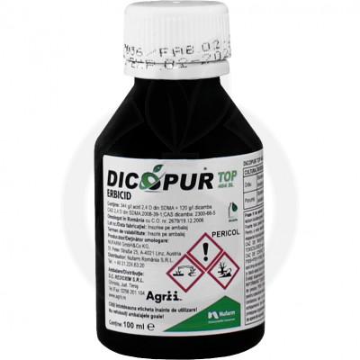nufarm erbicid dicopur top 464 sl 100 ml - 1