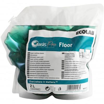 ecolab detergent oasis pro floor 2 l - 2