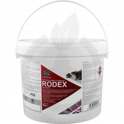 pelgar rodenticid rodex pasta bait 5 kg - 1