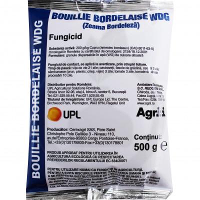 Bouille Bordelaise WDG, Zeama Bordeleza, 500 g
