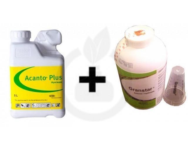 Acanto Plus 25L+ Erbicid Granstar Super 50 SG 2kg, pachet 50 HA