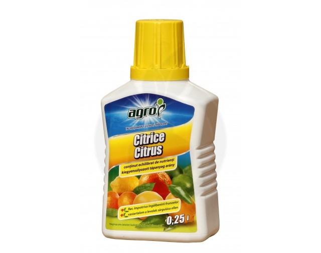 Ingrasamant lichid pentru citrice, 250 ml