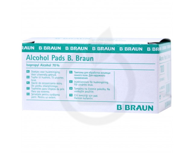 Alcohol Pads, 100 bucati