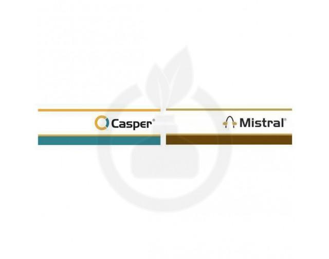 Casper 2 KG + Mistral 240 SC 1,25 L + Adjuvant Eurocarol Plus 2,5 L, pachet pentru 5 HA