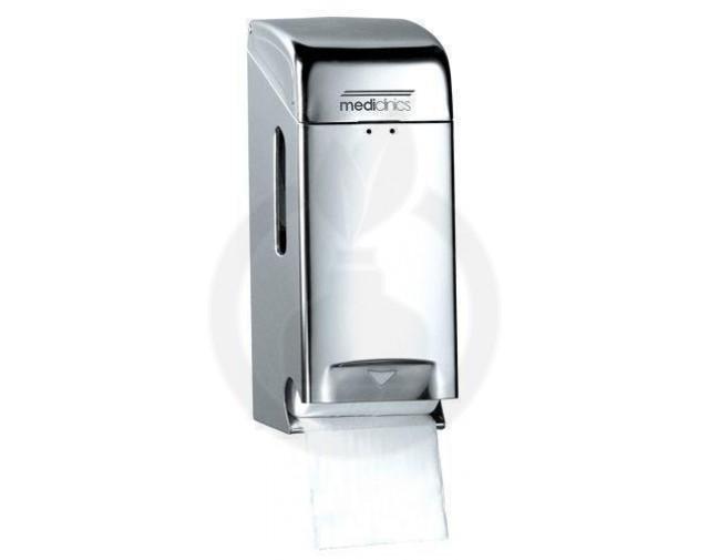 Dispenser Hartie Igienica 2 role inox lucios
