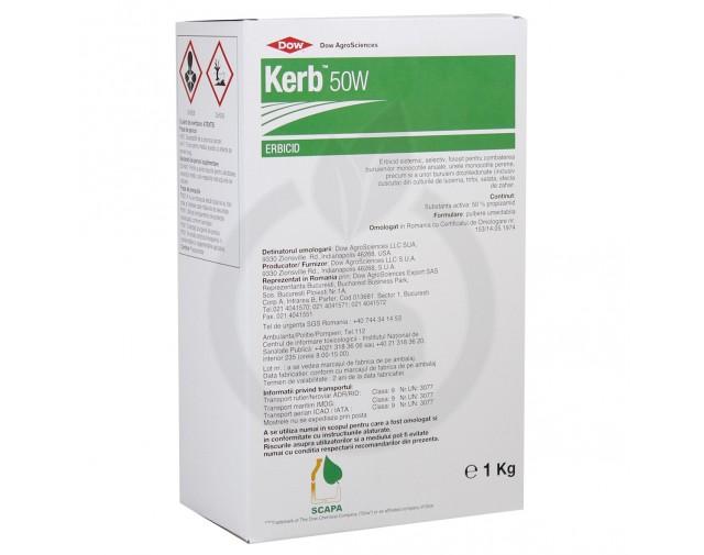 Kerb 50 W, 1 kg