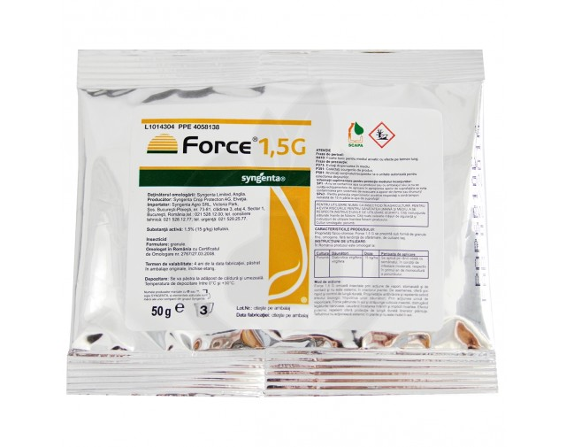 Force 1.5 G, 50 g