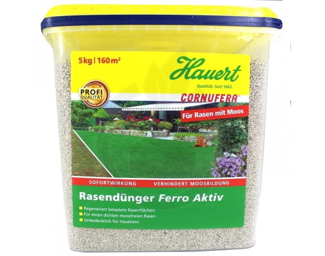 Ingrasamant gazon + Fe Hauert, 5 kg