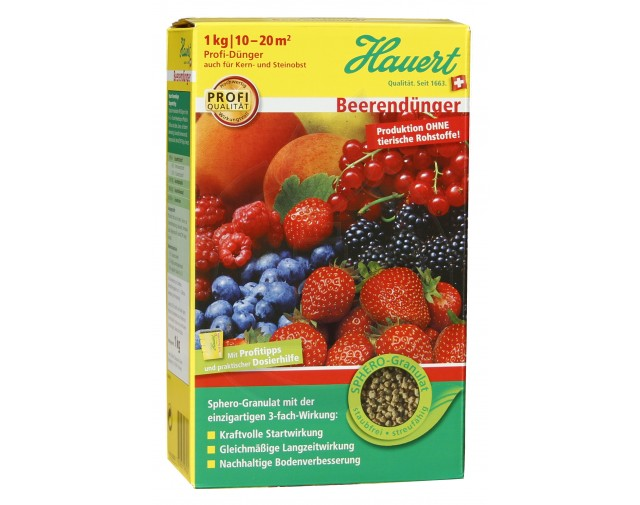 Ingrasamant arbusti fructiferi Hauert, 1 kg
