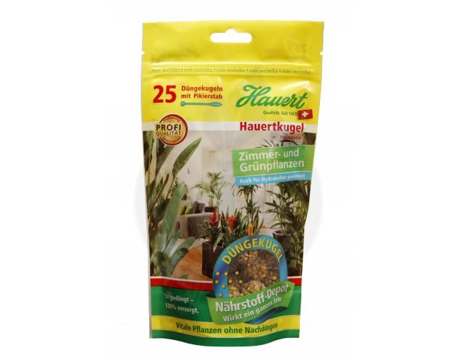 Ingrasamant sfere pentru plante de interior Hauert, 25 buc