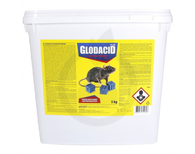 Glodacid Plus Blocuri de Parafina, 5 kg