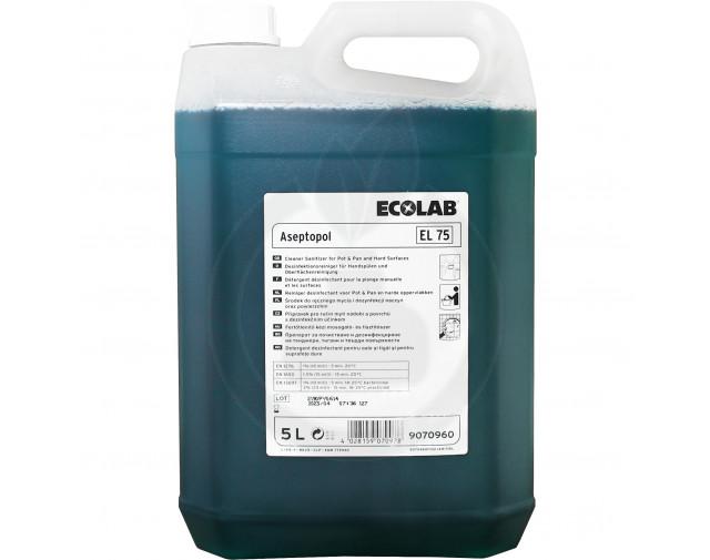 Aseptopol EL 75, 5 litri
