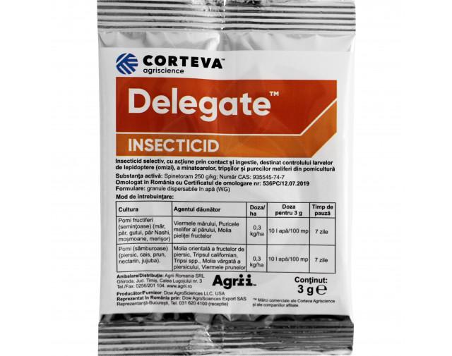Delegate, 3 g