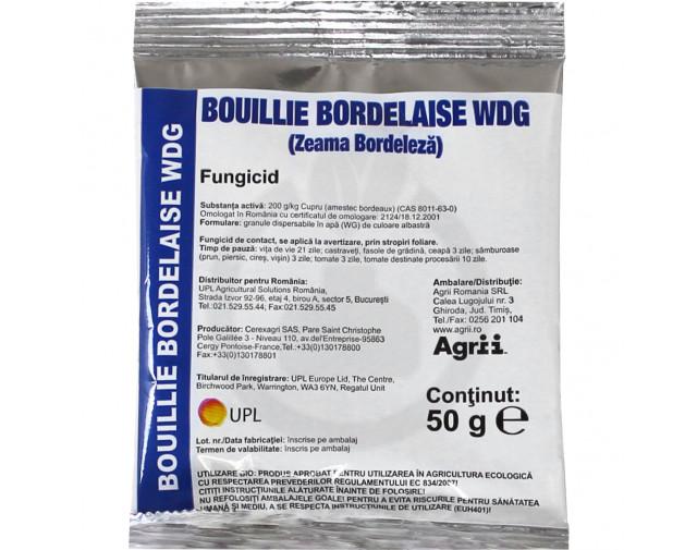 Bouillie Bordelaise WDG, Zeama Bordeleza, 50 g