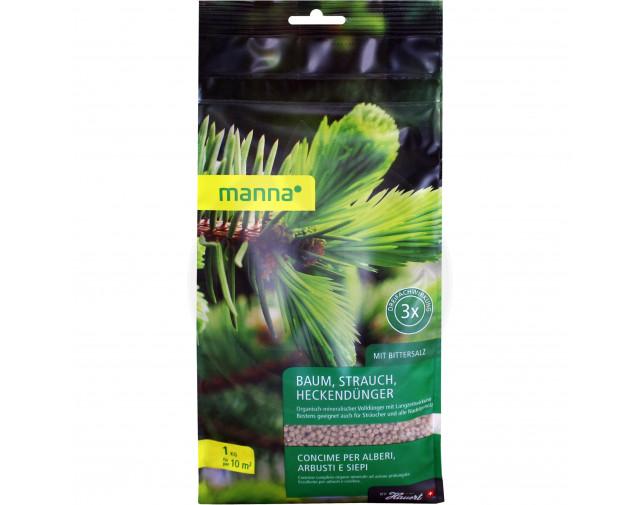 Ingrasamant conifere si arbusti decorativi Manna, 1 kg