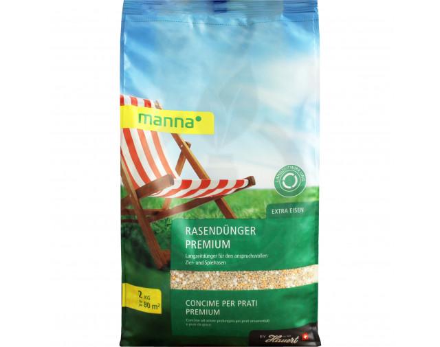 Manna Ingrasamant Premium pentru Gazon, 2 kg