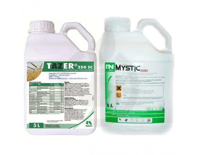 Pachet Mystic Star, Tazer 250 SC 5 litri + Mystic Gold 5 litri