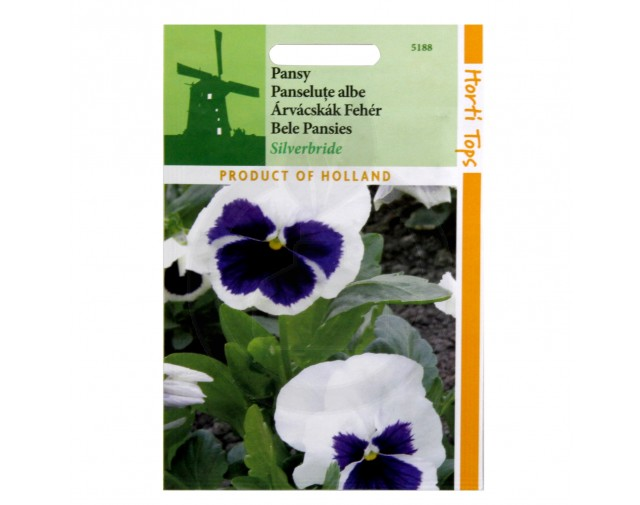 Panselute Albe, Viola Swiss Giant Silverbride, 0.2 g