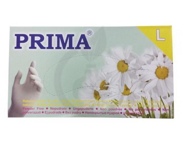 Manusi unica folosinta Prima, 100 buc, Latex
