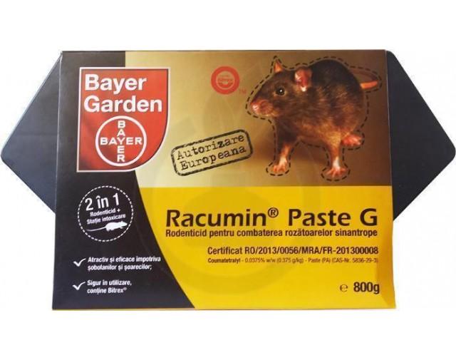 Racumin Paste G, 800 g + Statie intoxicare