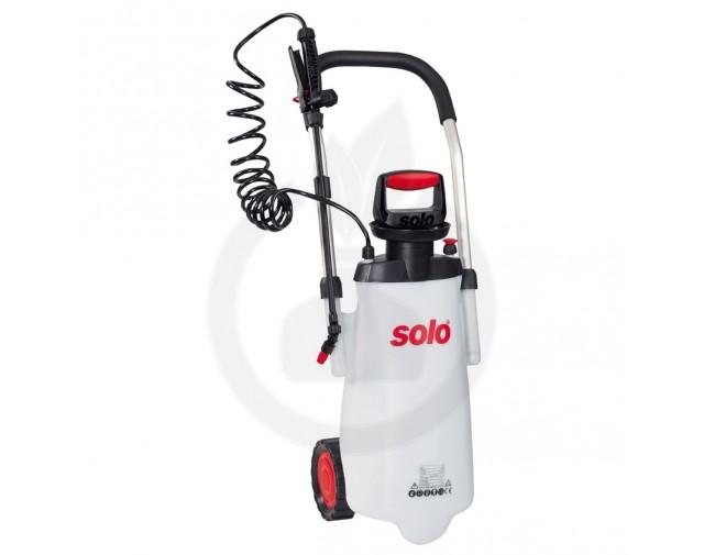 Pulverizator manual SOLO 453, carucior