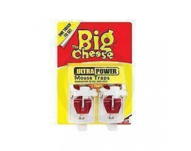 Big Cheese STV 148, capcana soareci, set 2 bucati