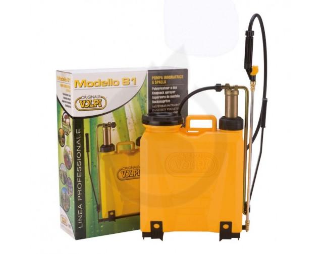 Pulverizator manual Volpi UNI 12L cu pompant cupru