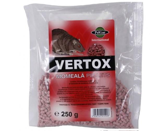 Vertox Momeala Peleti, 250 g