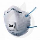 3m safety equipment ffp2 half mask 06922 with valve - 1