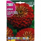 Carciumarese Flor de Dalia Gigante Doble Roja, 4 g