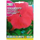 rocalba seed amor perfeito gigante de suiza rosa carmin 0 5 g - 1