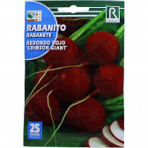 Ridichi Redondo Rojo Crimson Giant, 10 g