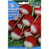 Ridichi Redondo Rojo Punta Blanca, 10 g