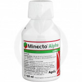 syngenta insecticide crop minecto alpha 100 ml - 1