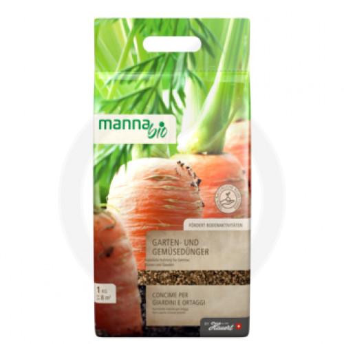 hauert fertilizer manna bio gemusedunger 1 kg - 1