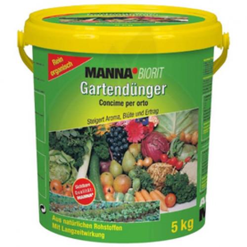 Ingrasamant Manna Biorit NPK Organic Gartendunger, 5 kg