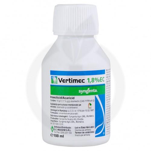 Vertimec 1.8 EC, 100 ml