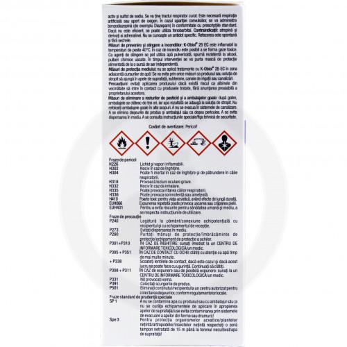 bayer insecticid k obiol ec 25 10 ml - 2