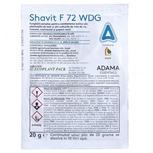 Shavit F 72 WDG, 20 g