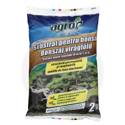 Substrat pentru bonsai, 2 litri