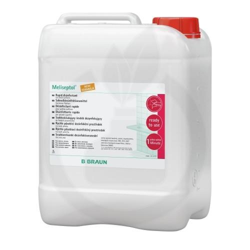 b.braun dezinfectant meliseptol foam pure 5 litri - 1